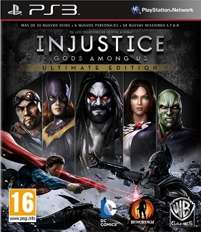 Injustice Gods Among Us Ultimate Edition PL (PS3)